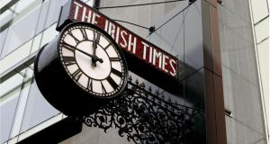 Sales of The Irish Times fell 4.6 per cent in January-June 2014 compared with the same period in 2013. Photograph: David Sleator
