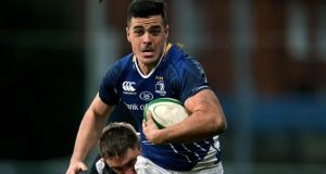 Jordan Coghlan will start at inside centre for Leinster in their opening pre-season game against the Northampton Saints at Franklin's Gardens on Saturday. Photograph: Ryan Byrne/Inpho