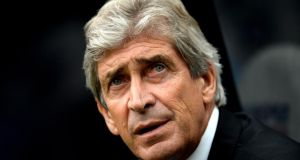 Manchester City manager Manuel Pellegrini says Liverpool game is a six-pointer. Photograph:  Jamie McDonald/Getty Images