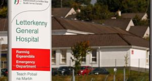 Tests  carried out for the Ebola virus on a man who died in Donegal and whose body  was placed in isolation in  Letterkenny General Hospital have come back negative for the virus. Photograph: Reuters