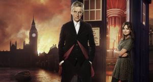 Regeneration: Doctor Peter Capaldi and Jenna Coleman
