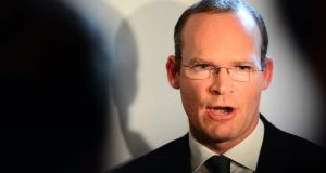 "Simon Coveney: ""I am firmly of the view that it is vital that Irish companies have access to as many markets worldwide as possible."" Photograph: Eric Luke"