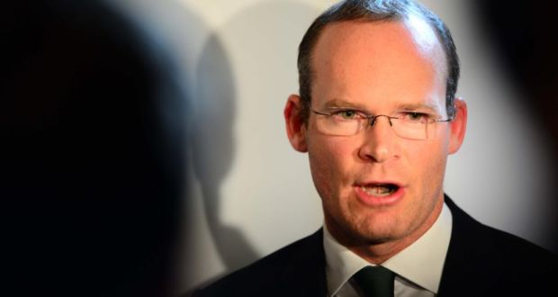 """Simon Coveney: """"I am firmly of the view that it is vital that Irish companies have access to as many markets worldwide as possible."""" Photograph: Eric Luke"""