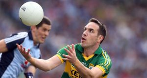 Declan O'Sullivan: Kerry have put legs before experience and are keeping the long-serving forward in reserve for tomorrow's All-Ireland SFC semi-fnal against Mayo at Croke Park. Photograph: Donall Farmer/Inpho