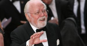 Richard Attenborough in 2008: the film Gandhi marked the pinnacle of his career. Photograph: Getty Images