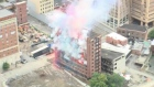 Dramatic demolition of 100-year old New York hotel