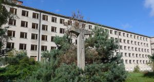 The Nazi/East German complex at Prora on the island of Rügen. Photograph: Derek Scally.