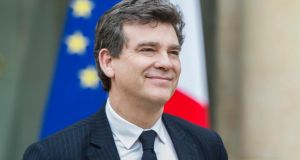"Arnaud Montebourg: said France ""must raise its voice"" with Germany. Photograph: EPA/Etienne Laurent"