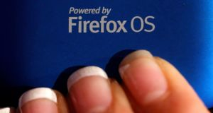 Mozilla is hoping to build market share for its open source software in the world's fastest growing market for such devices. Photograph: Simon Dawson/Bloomberg
