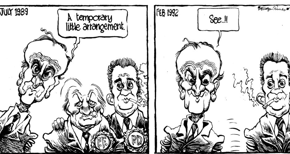 Cartoons: Martyn Turner draws Reynolds