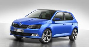 The new third-generation Skoda Fabia.