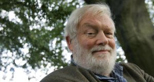 Home-from-home-land: Michael Longley. Photograph: Brenda Fitzsimons