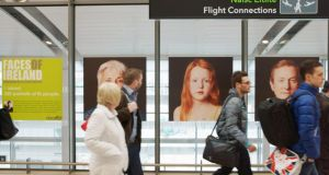 Dublin Airport: Just 11,600 Irish people arrived home from abroad last year, a fall of 26 per cent on the previous 12 months, and half the 2009 figure.