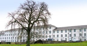 South Tipperary General Hospital, Clonmel. An audit  found visible bloodstains on a blood gas machine in the hospital's intensive care unit, while red stains were visible on a mattress cover and a pillow