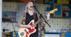 Cathy Davey performing on the media day for Electric Picnic 2014.Picture: Alf Harvey/hrphoto.ie