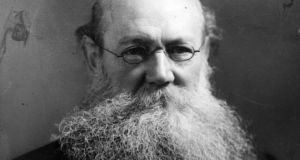 Kropotkin, above, 'pointed out that the national postal union came about without state control'. Photograph:  Edward Gooch/Getty Images