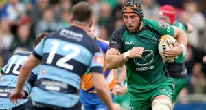 "Connacht captain John Muldoon: ""Our squad depth is the best it's ever been"". Photograph: James Crombie/Inpho."