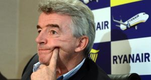 "A year ago, Michael O'Leary admitted the airline he did so much to shape over two decades was a little on the abrupt side. He promised his charges would stop doing things to ""unnecessarily piss people off"". He has been as good as his word. Photograph: Eric Luke/The Irish Times"