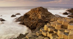 Giant's Causeway, Co Antrim. Alan Clarke said knowledge of destinations such as Dublin, Cork and Kerry was well developed in Britain, while the NI brand needed a bit more promotion. Photograph: John Lawrence/Getty