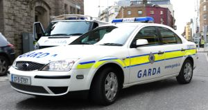 A woman has died in hospital after being struck by a Garda car in Dublin this morning. File photograph: Brenda Fitzsimons/The Irish Times