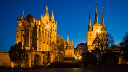 The cathedral in Erfurt, capital of Thuringia. Photograph: Derek Scally/The Irish Times