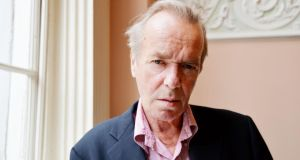 Novelist Martin Amis, who was in Dublin yesterday for a talk ahead of the Mountains to Sea dlr Books Festival. Photograph: Alan Betson