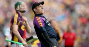 "The Wexford hurlers' championship odyssey was one of John Allen's highlights this year and he is delighted to welcome Liam Dunne and his team back into the ""almost contenders"" section for next year's championship. Photograph: Donall Farmer/Inpho"