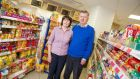 Judy and Peter Skelly in their Costcutter shop in Virginia, Co Cavan. Photograph: Barry Cronin.