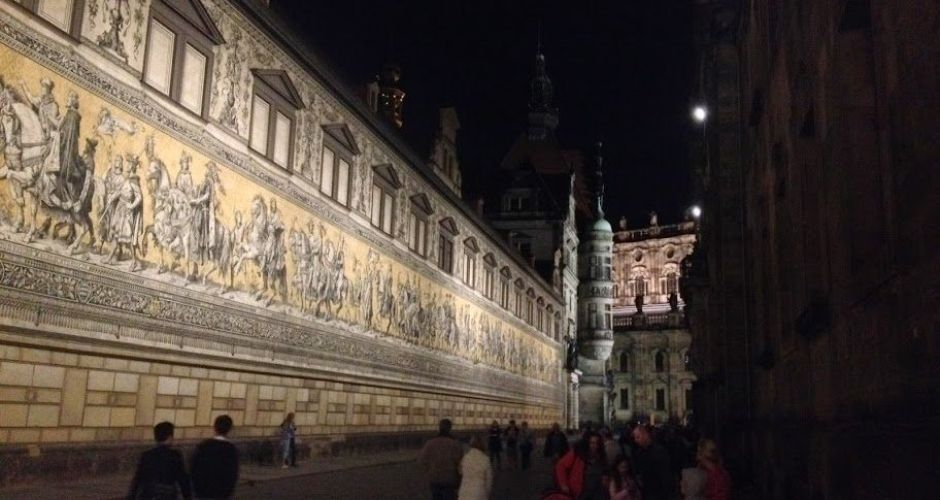 Beyond the wall: Dresden