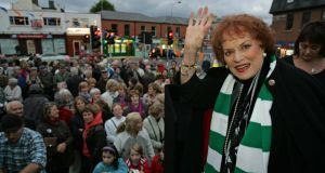 Maureen O'Hara photographed  in Ranelagh, Dublin in 2010 when she formally opened the Ranelagh Arts Festival. The Quiet Man star Maureen O'Hara has been awarded a lifetime achievement Oscar from the Academy of Motion Picture Arts and Sciences. Photograph: Frank Miller/The Irish Times.