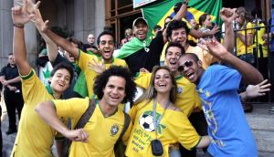 Brazilians face economic woes following a disappointing World Cup. Photograph: Matt Kavanagh, Irish Times
