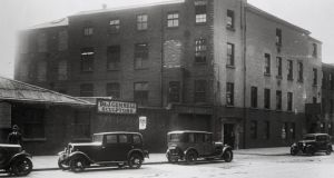The original BBC Belfast building in Linenhall Street, which opened in autumn 1924