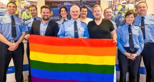 'Henry Street Garda station in Limerick is to fly a rainbow flag during the city's gay pride parade today.'