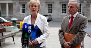 Fine Gael TD Regina Doherty: disagreed with  pro-choice view that women in Ireland did not have determination over their own bodies. Photograph: Cyril Byrne / The Irish Times