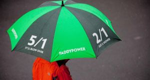 Paddy Power endured a torrid first half with a slew of racing and football results going the punters' way. Photograph: Paul Sherwood