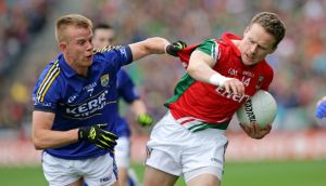 Mayo's  Andy Moran has been more influential coming off the bench. Photograph: Morgan Treacy/Inpho