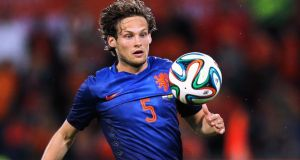 Manchester United have agreed a fee believed to be €18 million for Ajax's Danny Blind. Photograph:   Dean Mouhtaropoulos/Getty Images
