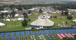 Exclusive to The Irish Times - the first ever drone footage of the Electric Picnic. Video: Sky Tec Ireland