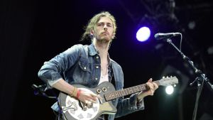Hozier: sublime. Bertrand Guay/AFP/Getty Images)