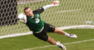 Shay Given has been recalled to the Republic of Ireland squad ahead of the games against Oman and Georgia. Photograph:  Niall Carson/PA