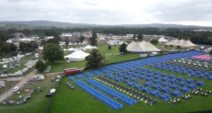 Drone footage of the site on the third day of Electric Picnic 2014