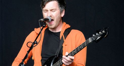 Lar Kaye of Tvvins on the main stage at Electric Picnic.  Photograph: Dave Meehan