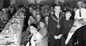 A social function at the centre in the 1960s