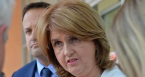 Joan Burton. grianghraf: alan betson/the irish times