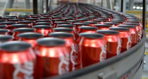 Coca-Cola: the top-selling brand in the Irish grocery market for the 10th year in a row, according to trade magazine 'Checkout'. Photograph: Carla Gottgens/Bloomberg