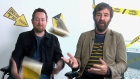 David O'Doherty and Chris Judge have collaborated on a new book 'Danger is Everywhere'. They answered some tough questions for The Irish Times. Video: Darragh Bambrick