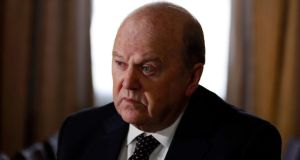 Minister for Finance Michael Noonan: scheduled to meet the European Union's interim economics commissioner Jyrki Katainen in Brussels on Monday before travelling to Luxembourg to meet ESM chief Klaus Regling, followed by meetings with euro group chairman Jeroen Dijsselbloem in The Hague and ECB head Mario Draghi in Frankfurt. Photograph: Reuters/Cathal McNaughton