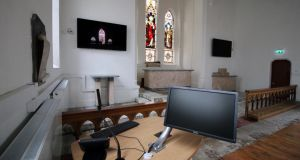 An interior of the restored church at the DIT's new Gormanstown campus. Photograph: Nick Bradshaw