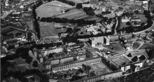 Aerial image of Grangegorman from the  1950s