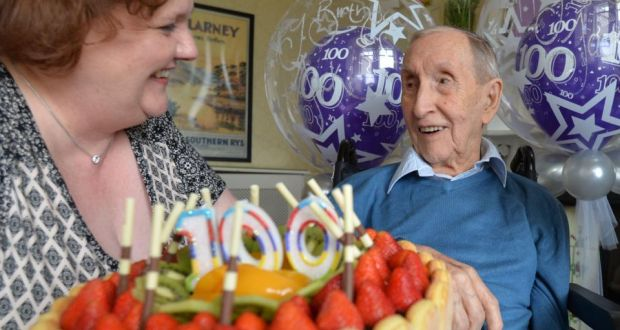 jack downs after receiving a letter from president higgins on the occasion of his 100th birthday